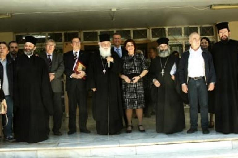 Αρχιεπίσκοπος Αθηνών: «Στην Ελλάδα υπάρχει ακόμη ευαισθησία, αγάπη και θέληση διακονίας» (ΦΩΤΟ)