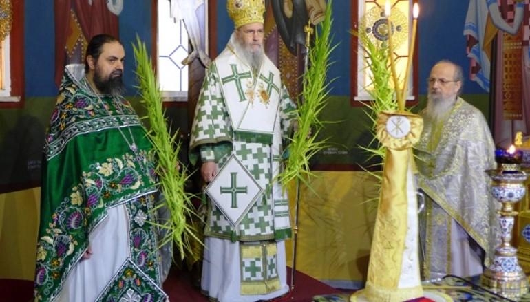 Κυριακή τῶν Βαΐων στόν Ἱ. Ν. Ἁγίου Νικολάου Ἀντιρρίου (ΦΩΤΟ)