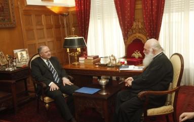 Εθιμοτυπικές επισκέψεις στον Αρχιεπίσκοπο Ιερώνυμο (ΦΩΤΟ)