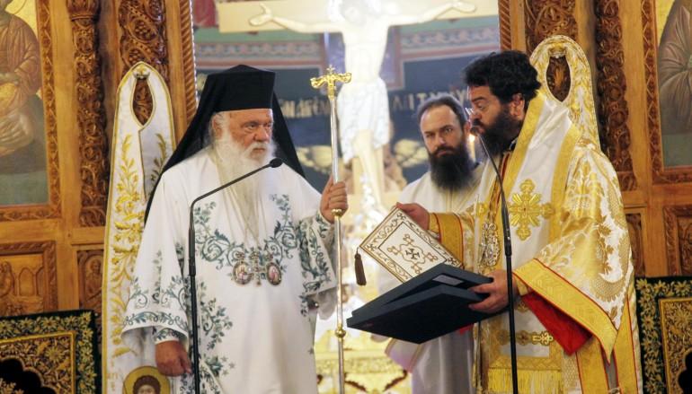 Ο Αρχιεπίσκοπος στην Ι. Μητρόπολη Μαρωνείας (ΦΩΤΟ)