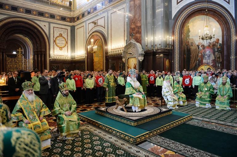 Η Κυριακή των Βαΐων στη Μόσχα (ΦΩΤΟ)