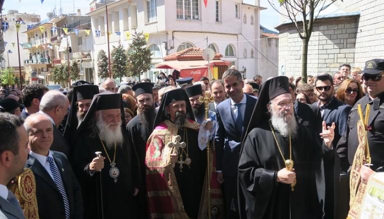 Ενθρονίστηκε ο νέος Μητροπολίτης Καρπενησίου Γεώργιος (ΦΩΤΟ)