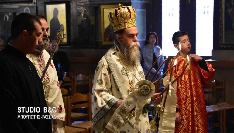 Η εορτή του Αγ. Λαζάρου στην Αγία Τριάδα -Πρόνοιας Ναυπλίου (ΦΩΤΟ)