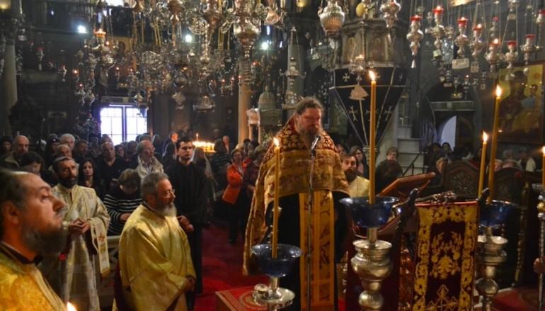 Η Ακολουθία της Γ' στάσης των Χαιρετισμών στην Τήνο (ΦΩΤΟ)