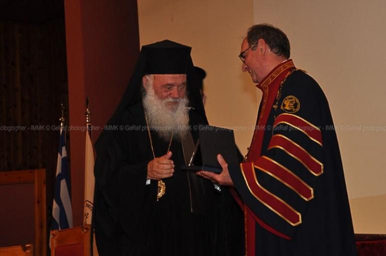 Επίτιμος Διδάκτωρ στο Δημοκρίτειο Πανεπιστήμιο ο Αρχιεπίσκοπος Ιερώνυμος (ΦΩΤΟ)