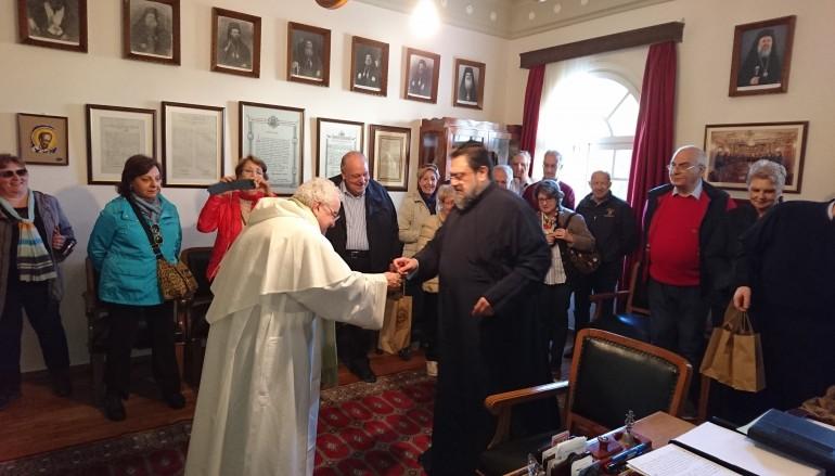 Όμιλος Καθολικών Καθηγητών Ιατρικής στον Μητροπολίτη Μεσσηνίας (ΦΩΤΟ)