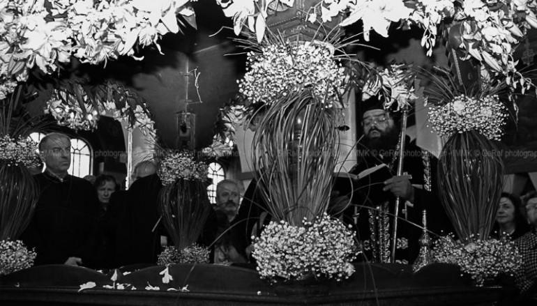 Η Αποκαθήλωση στην Ιερά Μητρόπολη Μαρωνείας (ΦΩΤΟ)