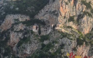 Οι Δ΄ Χαιρετισμοί στην Ι. Μονή Τιμίου Προδρόμου Καστρίου Κυνουρίας (ΦΩΤΟ)
