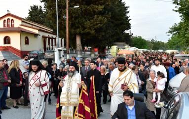 Πανηγυρικός Εσπερινός επί τη εορτή του Αγίου Λαζάρου στην Ι. Μ. Λαγκαδά (ΦΩΤΟ)