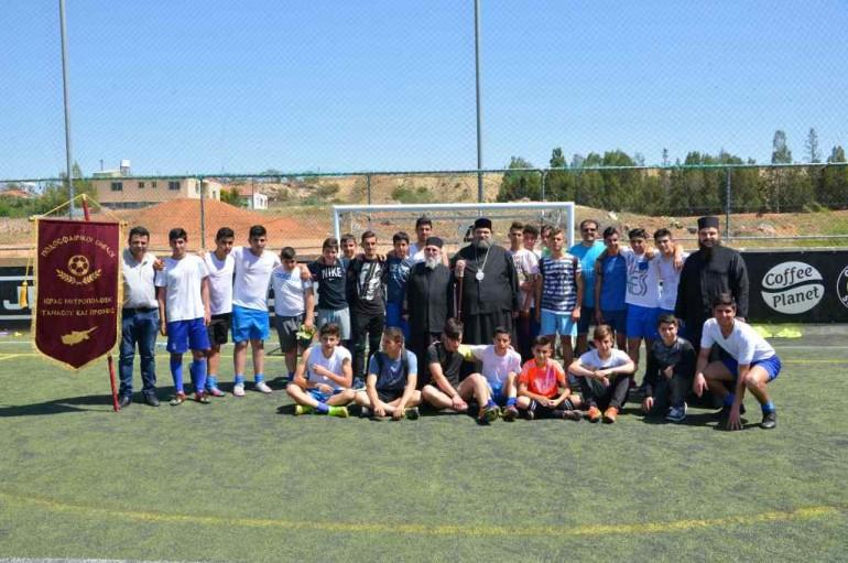 Πρωτάθλημα Futsal Κατηχητικών Σχολείων Ι. Μ. Ταμασού (ΦΩΤΟ)