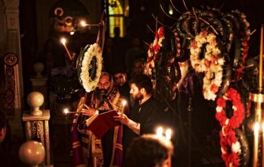 Η Ακολουθία των Παθών στην Ι. Μ. Λαγκαδά (ΦΩΤΟ)