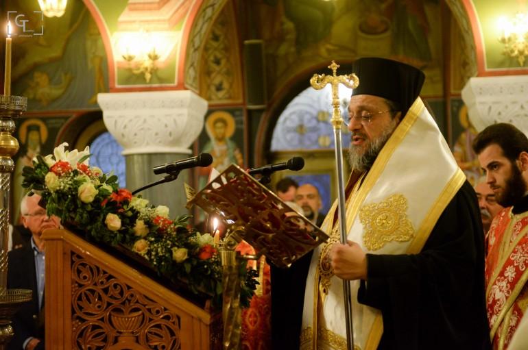 Στην Πύλο ο Μητροπολίτης Μεσσηνίας για τους Δ΄ Χαιρετισμούς (ΦΩΤΟ)