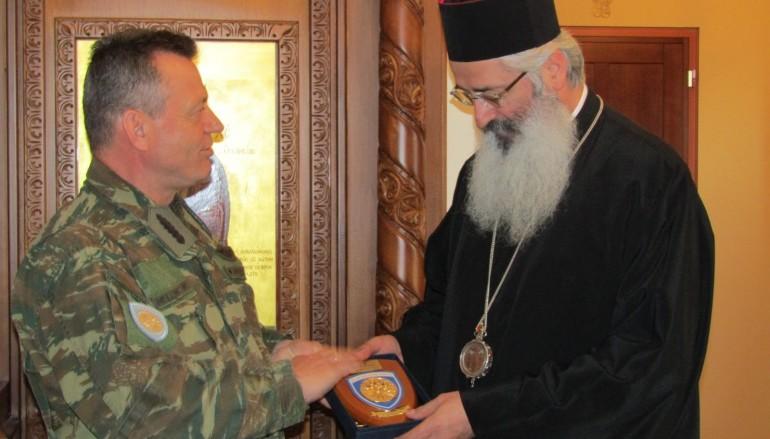 Στο Μητροπολίτη Αλεξανδρουπόλεως ο Αρχηγός της 1ης Στρατιάς (ΦΩΤΟ)