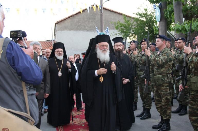 Ο Αρχιεπίσκοπος Ιερώνυμος στο Σουφλί (ΦΩΤΟ)