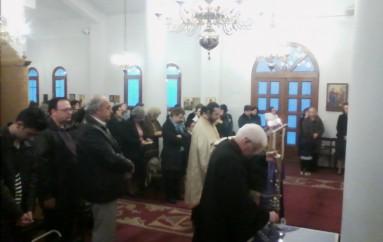 Η Aκολουθία των Γ' Χαιρετισμών στην Εκκλησιαστική Ακαδημία Θεσσαλονίκης (ΦΩΤΟ)