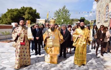 Η Ι. Μητρόπολη Μεγάρων εόρτασε τον Πολιούχο της Άγιο Λαυρέντιο (ΦΩΤΟ)