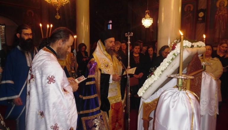 Γ΄ Χαιρετισμοί προς την Υπεραγία Θεοτόκο στους Σοφάδες (ΦΩΤΟ)