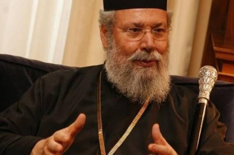 """Αρχιεπίσκοπος Κύπρου: """"Ποτέ δεν πίστεψα ότι θα λυθεί το Κυπριακό"""""""
