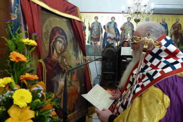Η Ακολουθία των Χαιρετισμών στον Άγιο Νικάνορα Καστορίας (ΦΩΤΟ – ΒΙΝΤΕΟ)