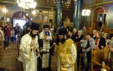 Υποδοχή Ιερού Λειψάνου του Αγίου Ιωάννου του Προδρόμου στην Ι. Μ. Καστορίας (ΦΩΤΟ)