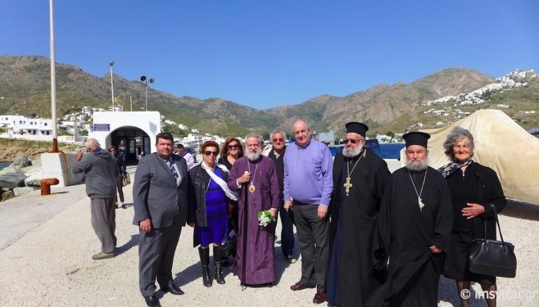 Ποιμαντική επίσκεψη του Μητροπολίτη Σύρου στη Σέριφο (ΦΩΤΟ)