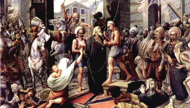 Ο Άγιος Γρηγόριος ο Ε΄ και το μαρτύριό του