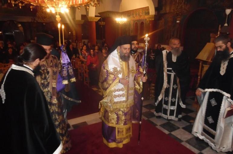 Αγρυπνία του Αγίου Αρσενίου Αρχιεπισκόπου Ελασσώνος (ΦΩΤΟ)