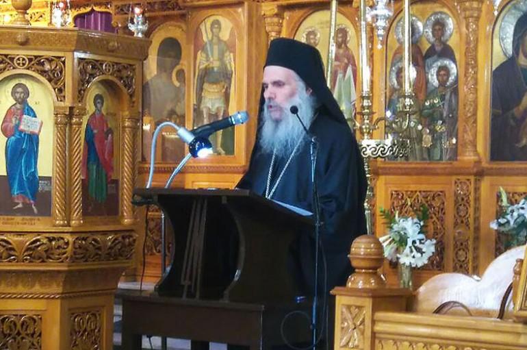Ομιλία από τον ιερομόναχο Βενέδικτο Αγιορείτη στην Ι. Μ. Ρεθύμνης (ΦΩΤΟ)