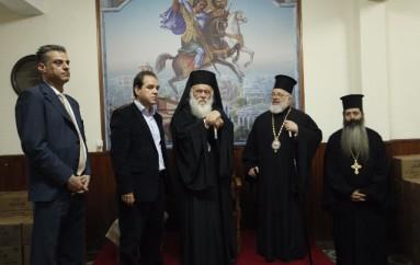 """Αρχιεπίσκοπος Ιερώνυμος: """"Η «Αποστολή» θα συνεχίσει να στηρίζει τους ακρίτες μας"""" (ΦΩΤΟ)"""