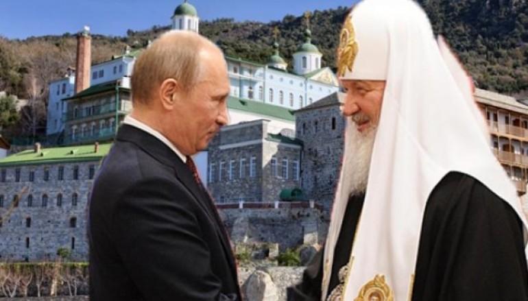 «Απόβαση» του Βλαντιμίρ Πούτιν και του Πατριάρχη Μόσχας στο Άγιο Όρος