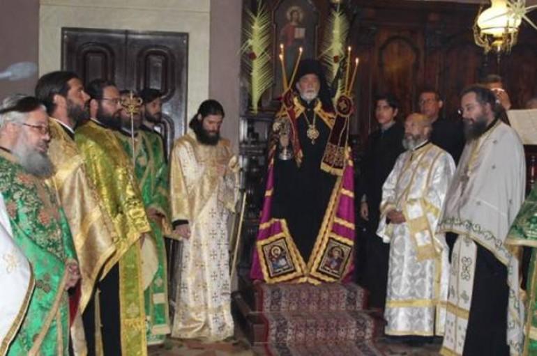 Ο Εσπερινός της Κυριακής των Βαϊων στην Κέρκυρα (ΦΩΤΟ)