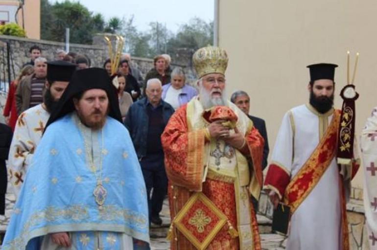 Εγκαίνια του Ιερού Ναού της Αγίας Τριάδος στα Καρουμπάτικα Κέρκυρας (ΦΩΤΟ)