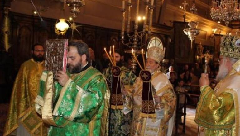 Η Κυριακή των Βαΐων στην Ι. Μητρόπολη Κερκύρας (ΦΩΤΟ)