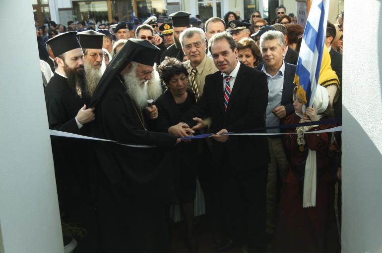 Αρχιεπίσκοπος: «Η μέριμνα της Εκκλησίας μας, παραμένει ζώσα στους Έλληνες ακρίτες» (ΦΩΤΟ)