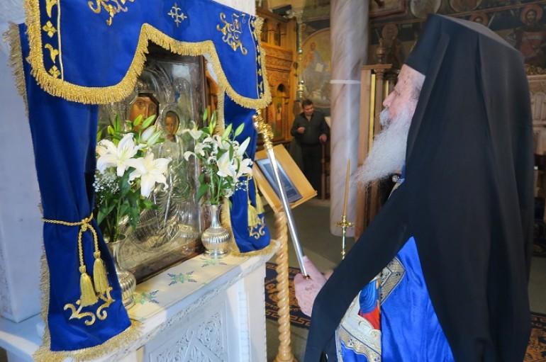Η Γ΄ Στάση των Χαιρετισμών στην Ιερά Μονή Δαμάστας (ΦΩΤΟ)