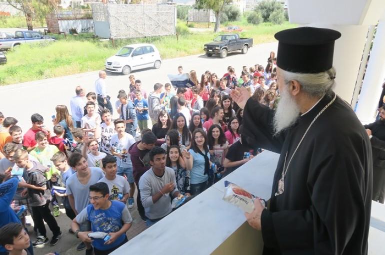 Μαθητές στο Πνευματικό Διοικητικό Κέντρο της Ι. Μ. Φθιώτιδος (ΦΩΤΟ)