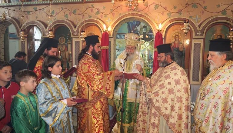 Κυριακή Δ΄ Νηστειών στο Μεσοχώρι της Υπάτης (ΦΩΤΟ)