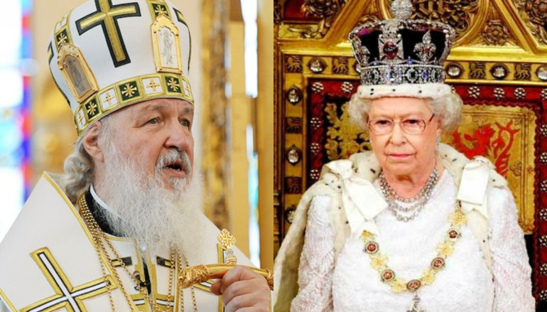 O Πατριάρχης Μόσχας ευχήθηκε στην Βασίλισσα Ελισάβετ Β' για τα γενέθλιά της
