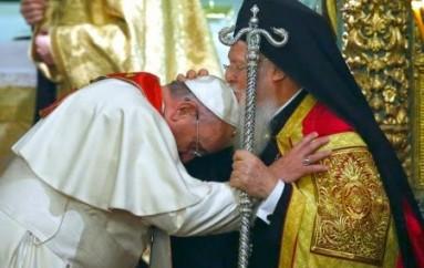 Ο Πάπας γράφει πρόλογο βιβλίου για τον Πατριάρχη