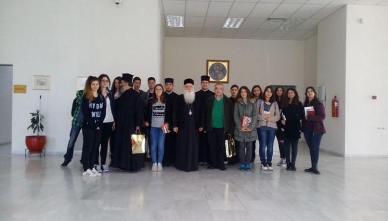 Στο Μητροπολίτη Δημητριάδος μαθητές της Ριζαρείου Εκκλησιαστικής Σχολής (ΦΩΤΟ)