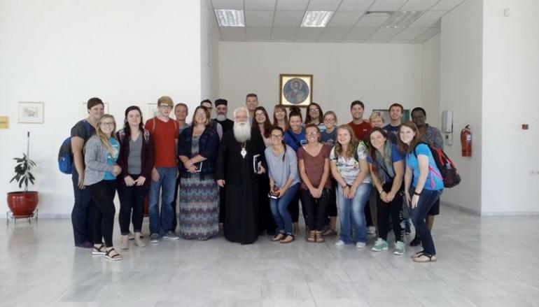 Σπουδαστές από την Αμερική και το Αγρίνιο στον Μητροπολίτη Δημητριάδος (ΦΩΤΟ)