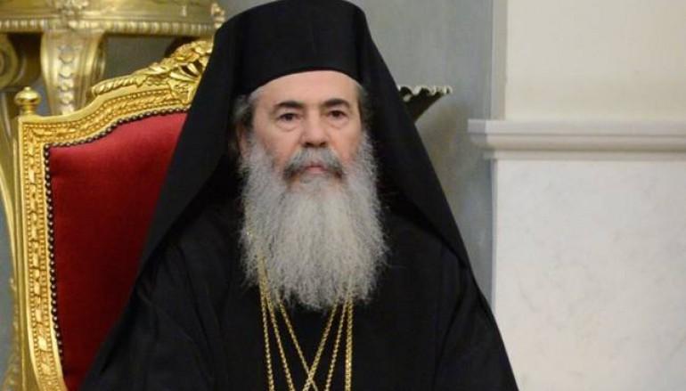 """Πατριάρχης Ιεροσολύμων: """"Όργανα οι Έλληνες πολιτικοί"""""""