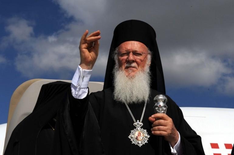 Η δήλωση του Οικουμενικού Πατριάρχη κατά την απόβασή του στη Λέσβο (ΒΙΝΤΕΟ)