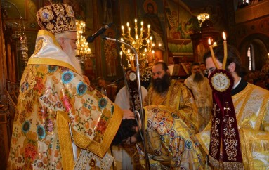 Νέος Διάκονος στην Ι. Μητρόπολη Δημητριάδος (ΦΩΤΟ)