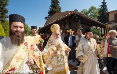 Πανηγύρισε η Ιερά Μονή Παναγίας Δοβρά στη Βέροια (ΦΩΤΟ)