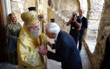 """Παρουσία του Προέδρου της Δημοκρατίας τα """"Παλαιολόγια"""" στο Μυστρά (ΦΩΤΟ)"""