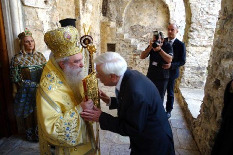 Παρουσία του Προέδρου της Δημοκρατίας τα «Παλαιολόγια» στο Μυστρά (ΦΩΤΟ)