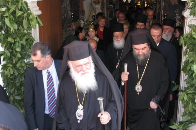 Επίσκεψη του Αρχιεπισκόπου Ιερωνύμου στην Ι. Μ. Σερρών (ΦΩΤΟ)