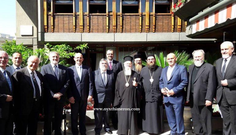 Ολοκληρώθηκε η επίσκεψη του Αρχιεπ. Τσεχίας στο Φανάρι (ΦΩΤΟ)