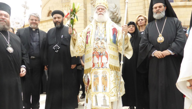 Η εορτή του Αγ. Γεωργίου στην ομώνυμη Πατριαρχική Μονή Παλαιού Καΐρου (ΦΩΤΟ)